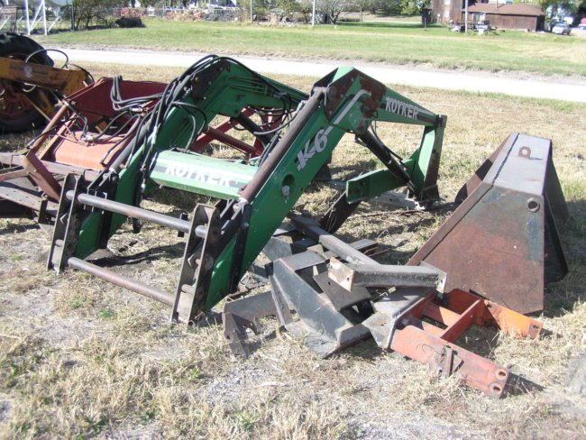 Find Used Koyker Tractor Mounted Loaders Equipment